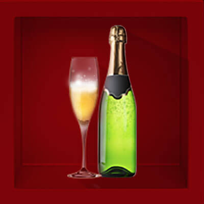 Champagne Bottle Animated 4 of 9