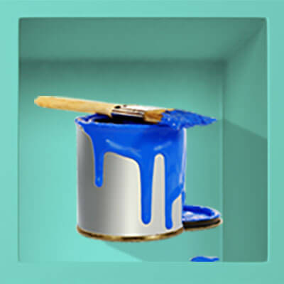 Dripping Paint Bucket Animated