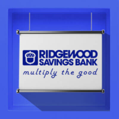 Ridgewood Savings Bank: Multiply the Good Logo